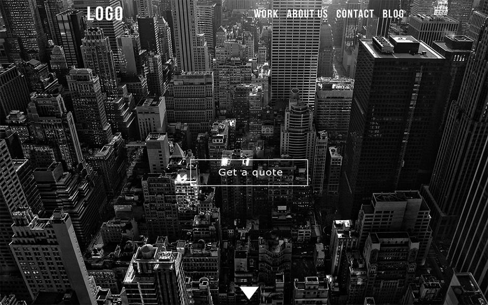 Creative Design-Media Company Website Template PSD