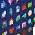 Free Flat Icon Set PSD Download
