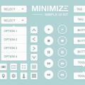 Free Simple UI Kit PSD For Designers