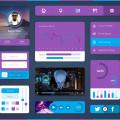 Free UI Kit PSD Download