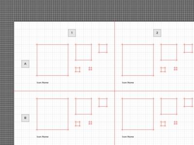 Free Vector Icon Grid