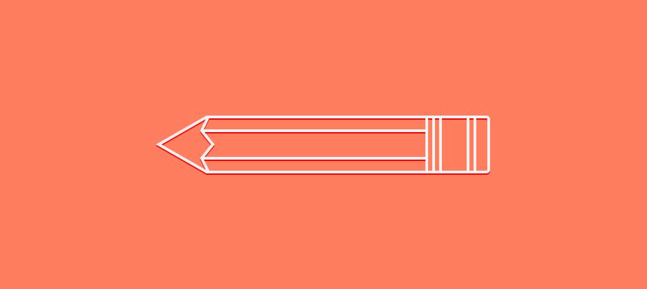 Free pixel-perfect pencil vector icon