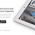 white iPad App Custom landing product page PSD template