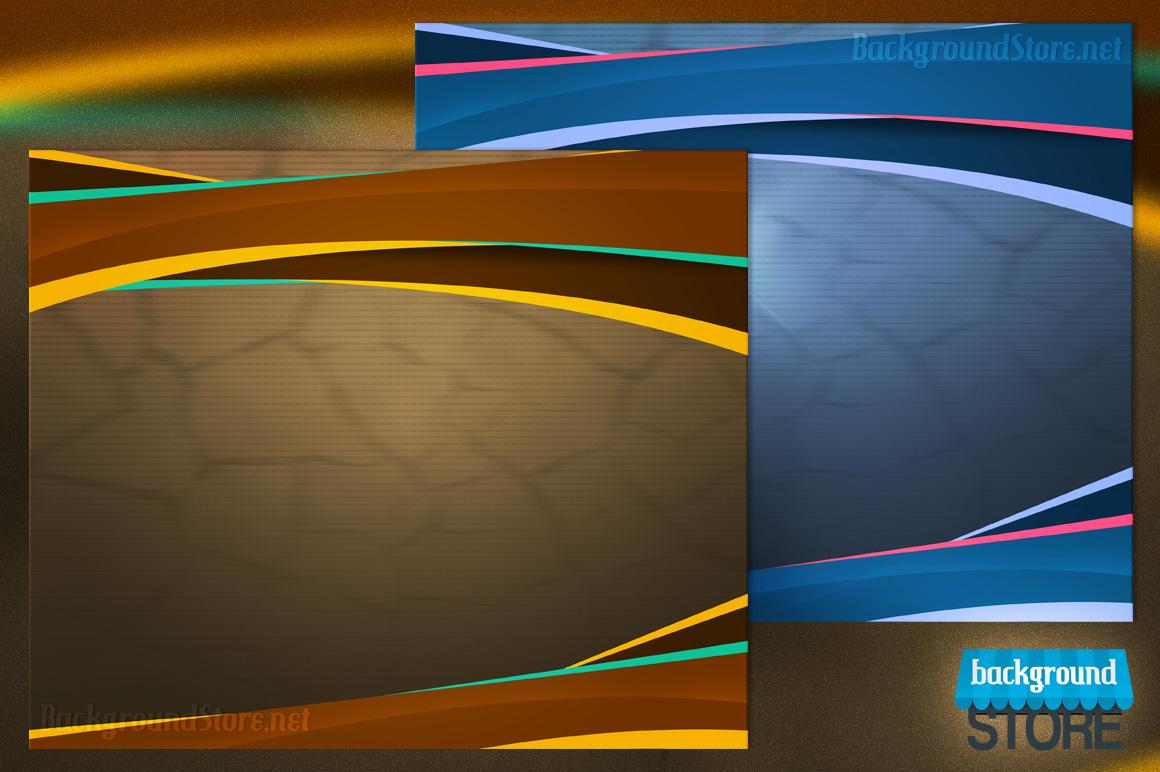 4 Customizable PSD Digital Background
