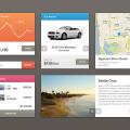 Cool UI Kit PSD