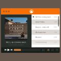 Flat Player PSD For App Design