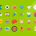 Flat icons Vector (illustrator ai file)