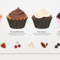 Free Cupcakes Vector Art
