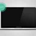 Free Macbook Pro Mockup PSD
