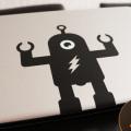 Free Macbook Pro Sticker Robot Vector
