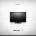 Free Plasma TV PSD & Icon PNG