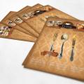 Free Restaurant Flyer Mockup Template PSD