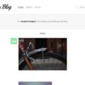 Free & Simple Blog template PSD screenshot