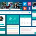 Free UI Kit PSD-Flat And Simplistic Design