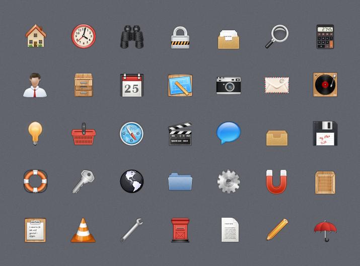 Free Web Icons Set