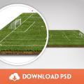 Freebie - Football Pitch PSD