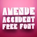 Freebie- Pink 3D Font
