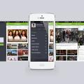 Hulu IOS 7 iPhone APP Design PSD