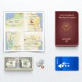 Immigrant Toolk - Coin Money Passport Map