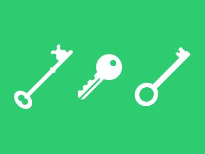 Key Icons PSD