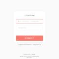 Login Register Form HTML5 CSS3 Template