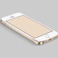 PSD-Gold Apple iPhone 5S