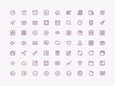 PSD-Icon Set For UI Design