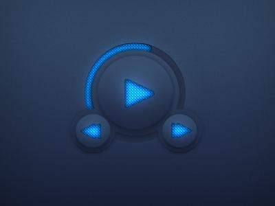 PSD Player Widget