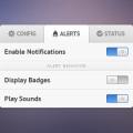 PSD-Tabbed Settings Widget