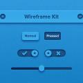 PSD-Wireframe Kit Photoshop