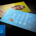 Photographer Business Card Template Mockup