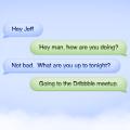 Cloud Chat Bubbles PSD