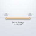 Price Range Slider PSD
