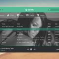 Spotify UI PSD