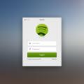 Spotify for Mac Login Window
