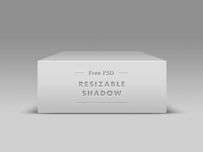 Vector Shape-Box Shadow PSD