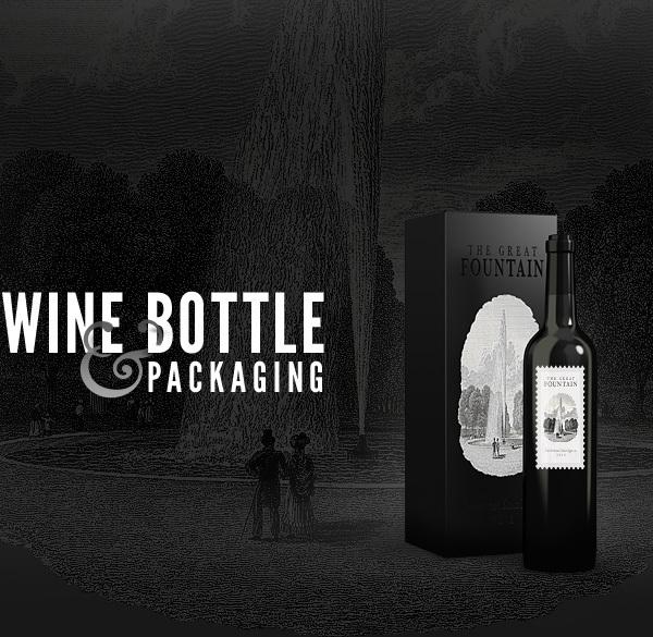 Wine Bottles Mockup Template PSD-7