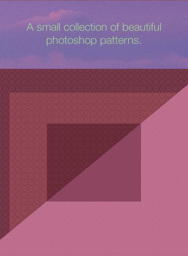 beautiful photoshop patterns