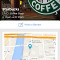 iOS App Foursquare Redesign