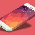 iOS Iphone 6 Infinity Mockup Template