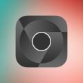 Black logo- Google Chorme icon Vector