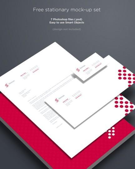PSD Template Letterhead,Business Cards / Branding & Stationary Mockup
