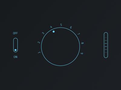 Free Audio Player UI Kit PSD