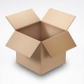 Free Cardboard Box PSD