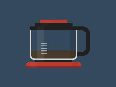 Free Coffee Pot PSD