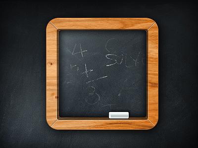 Free Minimal Chalkboard PSD