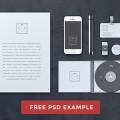 Blank Stationery / Branding Mock-Up / Card PSD