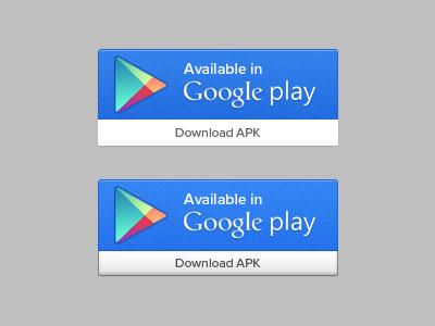 Google Play UI Button PSD | Free PSD,Vector,Icons