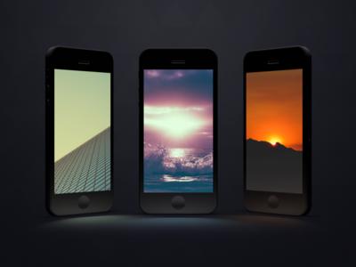 Modern Desktop iPad iPhone wallpapers