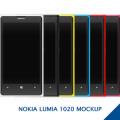 Nokia Lumia 1020 MockUp PSD